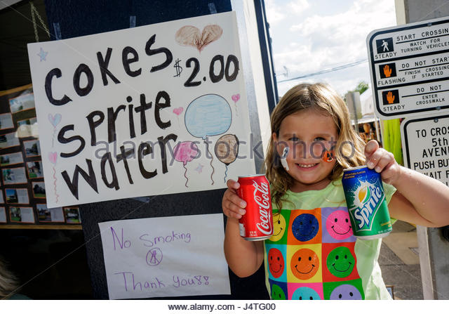 Sprite can stock photos sprite can stock images alamy for Mount dora craft fair 2017