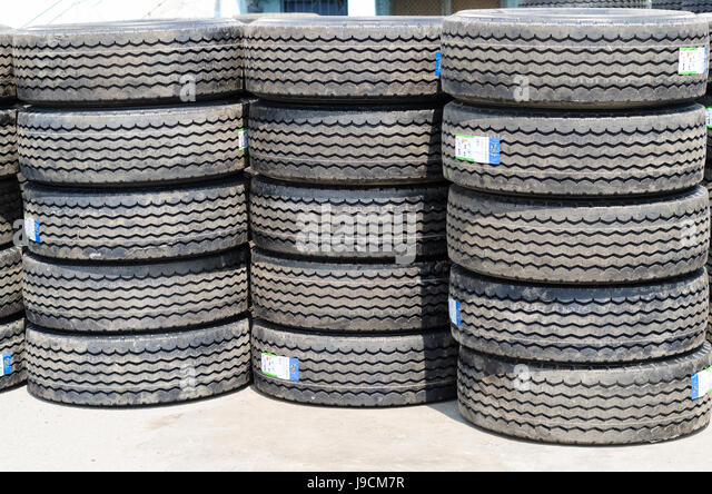 Truck Tires Stock Photos Amp Truck Tires Stock Images Alamy
