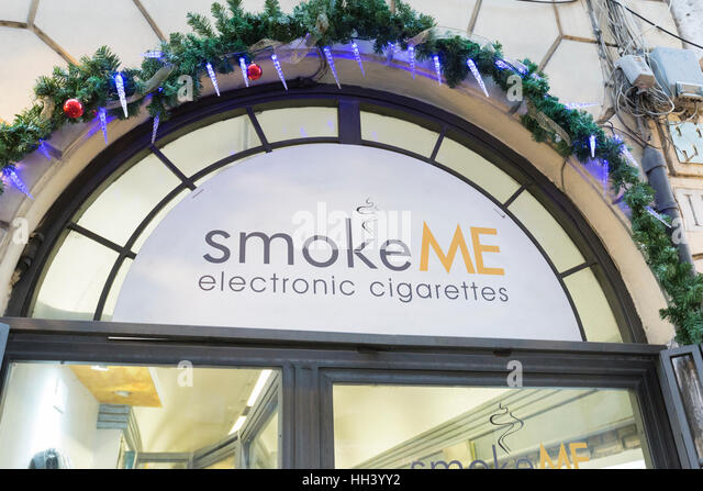 Electronic cigarette drug store