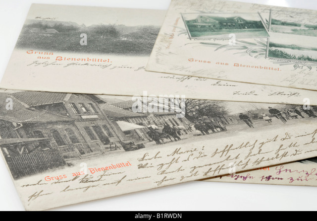 Old postcards dating