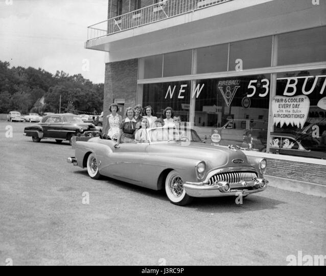 Historic car dealership stock photos historic car for Century motors of south florida