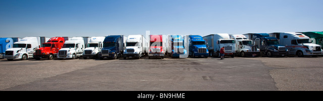 Tractor Trailer Rings : Tractor trailer driver stock photos