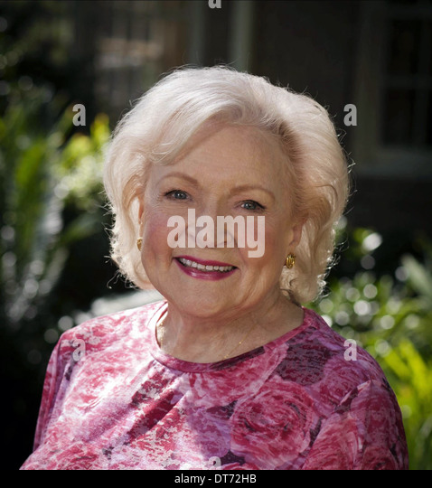 BETTY WHITE THE LOST VALENTINE (2011)   Stock Image