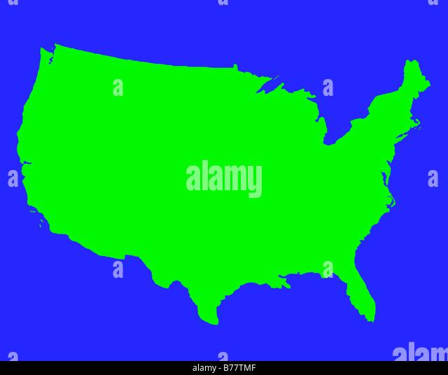 Usa Map Stock Photos Usa Map Stock Images Alamy - Clipart us map border security