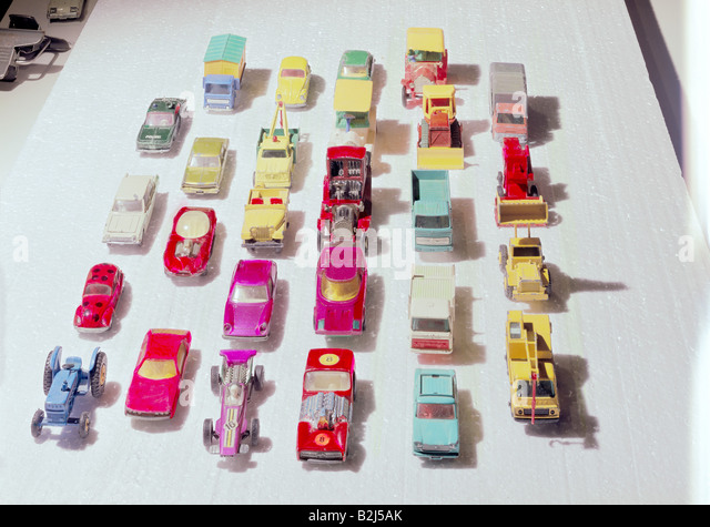 Toys That Were Made In The 1970 : Matchbox toys stock photos images