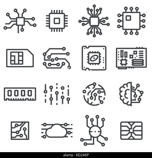 electronic circuit vector vectors stock photos  u0026 electronic circuit vector vectors stock images