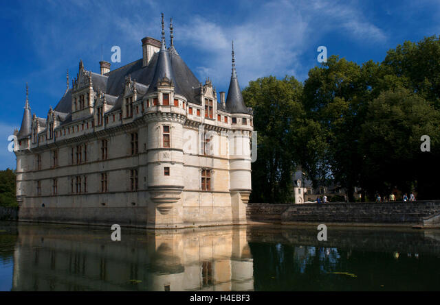 azay le rideau castle unesco stock photos azay le rideau castle unesco stock images alamy. Black Bedroom Furniture Sets. Home Design Ideas