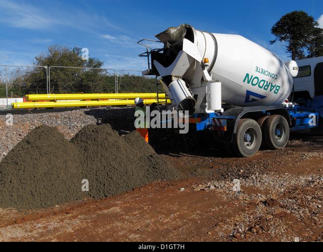Concrete Delivery Truck Stock Photos Amp Concrete Delivery