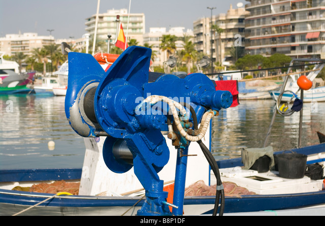 Hauler stock photos hauler stock images alamy for Commercial fishing supplies