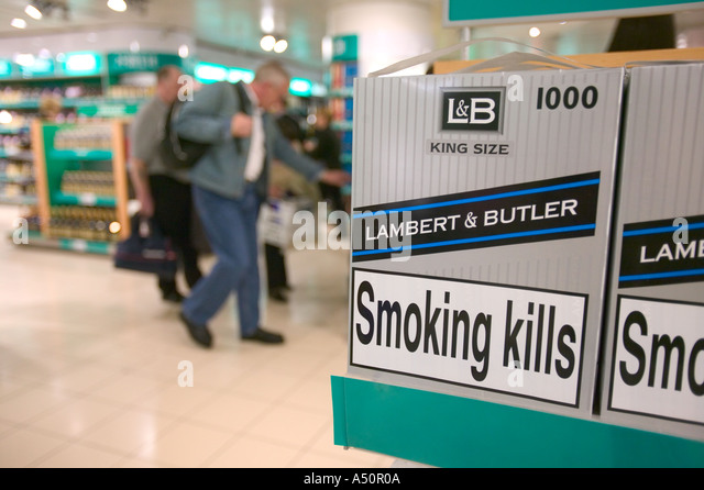 Cigarette prices USA duty free