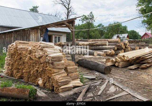 Balk stock photos balk stock images alamy - Houses maramures wood ...
