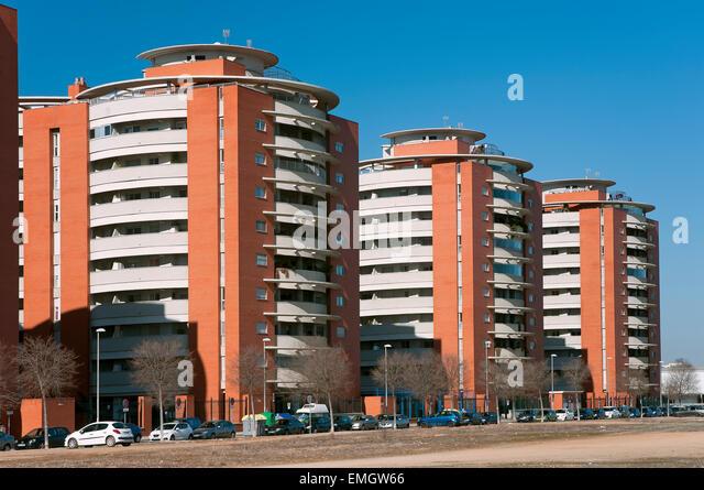 Seville spain flats stock photos seville spain flats stock images alamy - Jardines de hercules sevilla ...