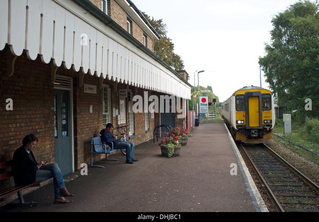 ipswich lowestoft train
