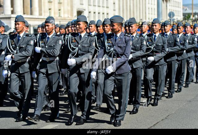 Mongolian Army Parade Mongolian Army ...