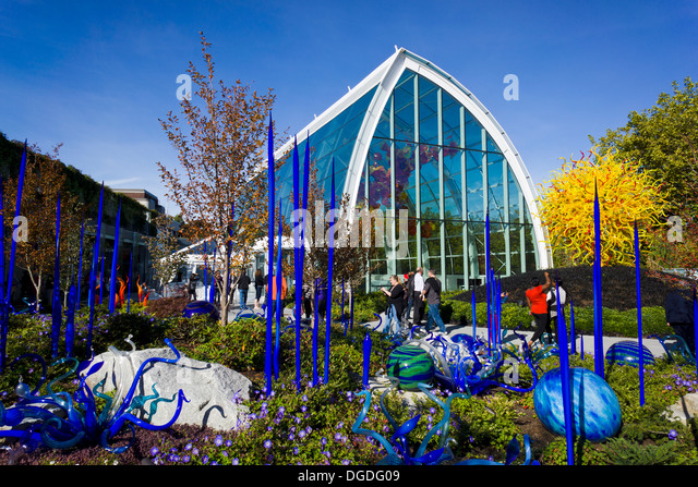 Chihuly Garden And Glass Seattle Stock Photos Chihuly