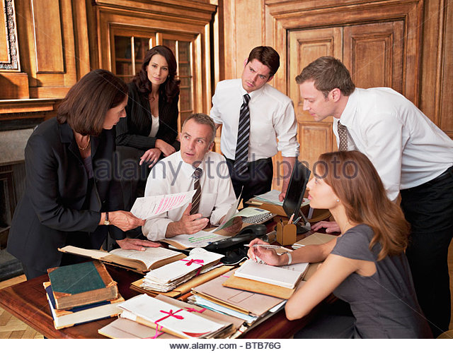 lawyers at desk - photo #8