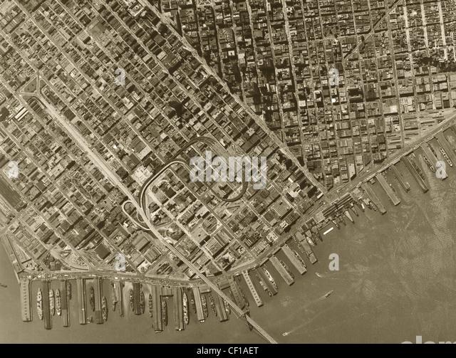 San francisco historical aerial photos - rupa devi mahakali images