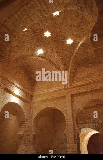 Historical skylights stock photos historical skylights - Banos arabes cadiz ...