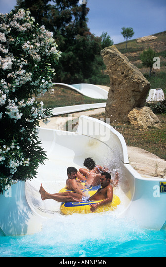 Pool Chutes Stock Photos Pool Chutes Stock Images Alamy