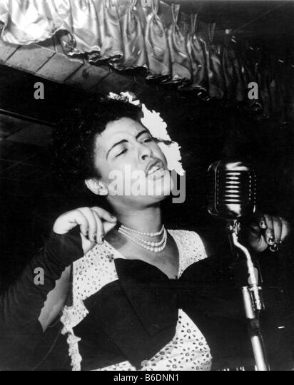Billie holliday stock photos billie holliday stock for Billie holiday mural