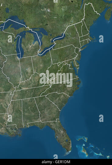 View Map Eastern Us South Carolina Map Midwestern United States - Map of eastern united states