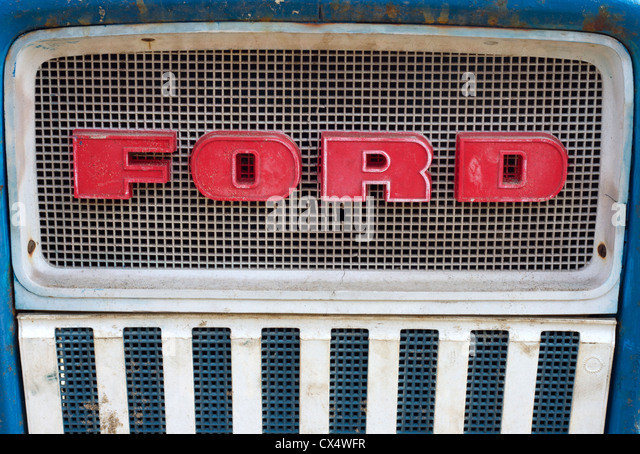 Ford Grille Stock Photos & Ford Grille Stock Images - Alamy
