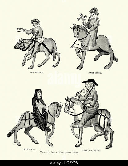 an analysis of the pardoners tale in geoffrey chaucers canterbury tales by geoffrey chaucer The pardoner's tale is one of the canterbury tales by geoffrey chaucer in the order of the tales further examines the canterbury tales in further analysis.