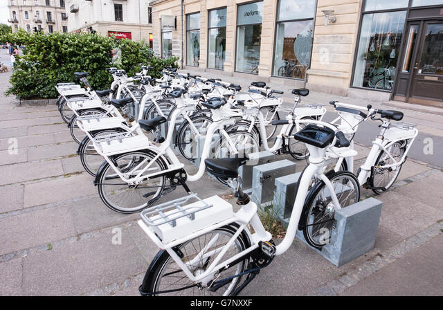 Electric Bike Hire Stock Photos Electric Bike Hire Stock Images