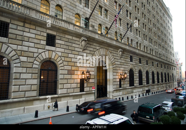 federal reserve building nyc