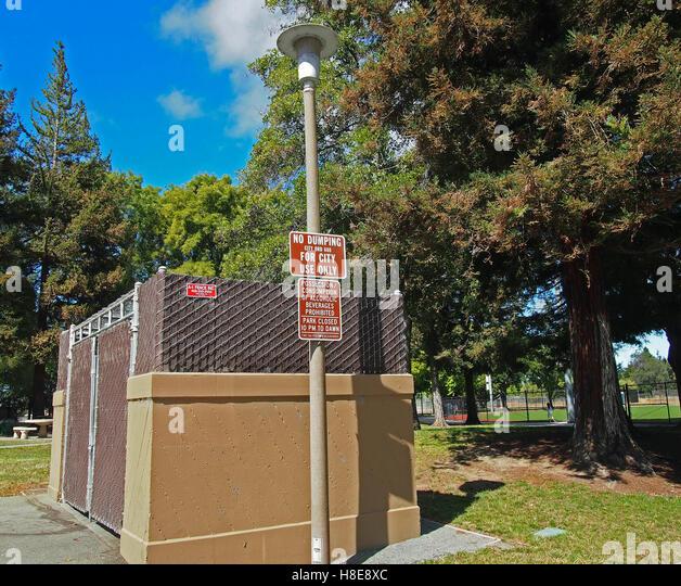 No Dumping On City Park Property