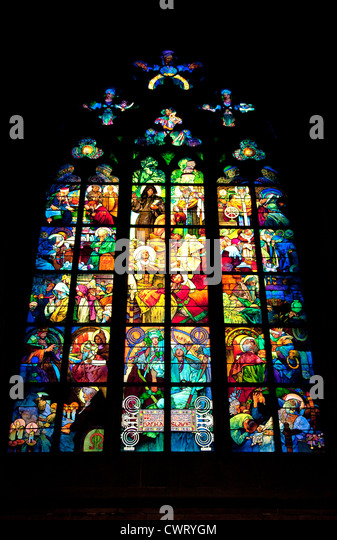 Art Nouveau Stained Glass Stock Photos & Art Nouveau ...