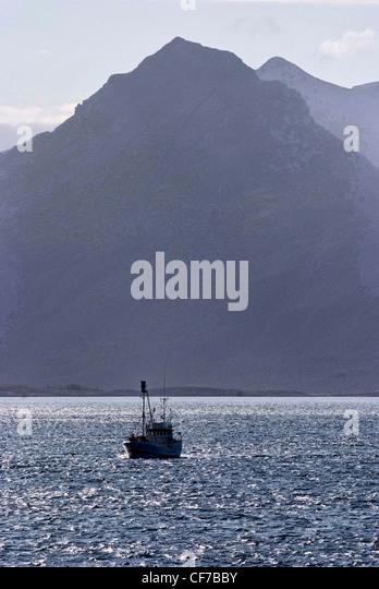 Norway fjord fishing stock photos norway fjord fishing for Circle fishing boat
