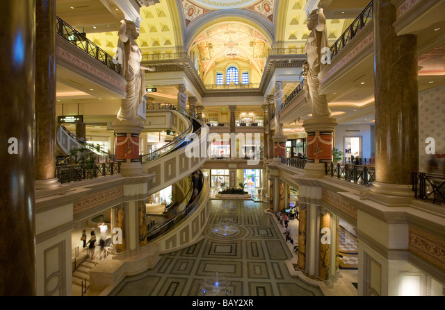 The Forum Shops At Caesars Palace In Las Vegas Nevada USA