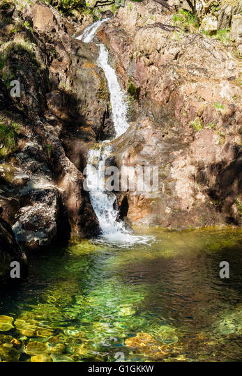 Y cwm stock photos y cwm stock images alamy - Crystal pools waterfall ...
