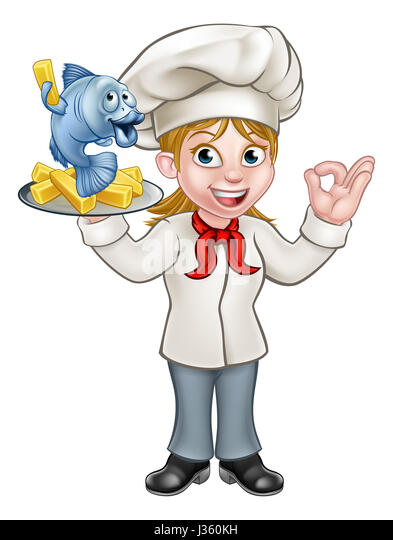 Fish N Chips Cartoon Characters : Fish chips illustration happy stock photos