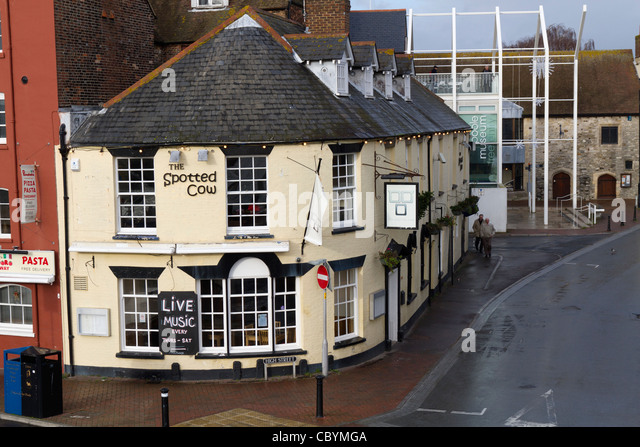 The Spotted Cow Public House In Poole Dorset