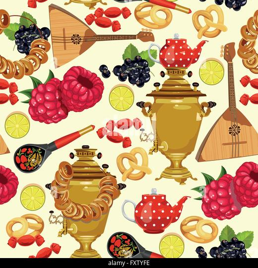 Russian poster art stock photos russian poster art stock for Art of russian cuisine