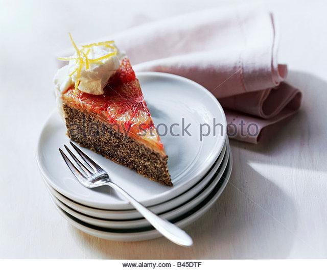 Coin In Fruit Cake Slice