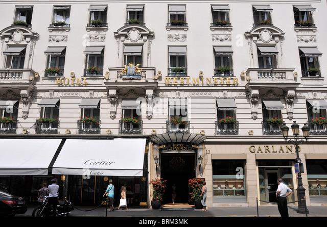 Paris Westminster Hotel Luxury Stock Photos & Paris Westminster ...