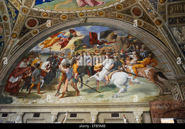 Italian painting battle stock photos italian painting for Battle of marciano mural