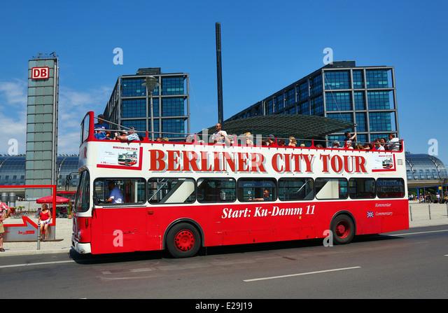 berlin tourist bus stock photos berlin tourist bus stock images alamy. Black Bedroom Furniture Sets. Home Design Ideas