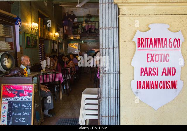 Britannia Cafe Mumbai Menu