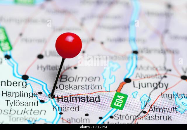 Halmstad Sweden Stock Photos Halmstad Sweden Stock Images Alamy - Sweden map halmstad