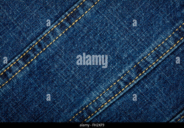 Stitch Worn Denim Fabric Stock - 277.9KB