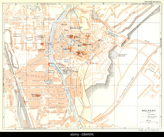Territoire De Belfort Map Stock Photos Territoire De Belfort Map
