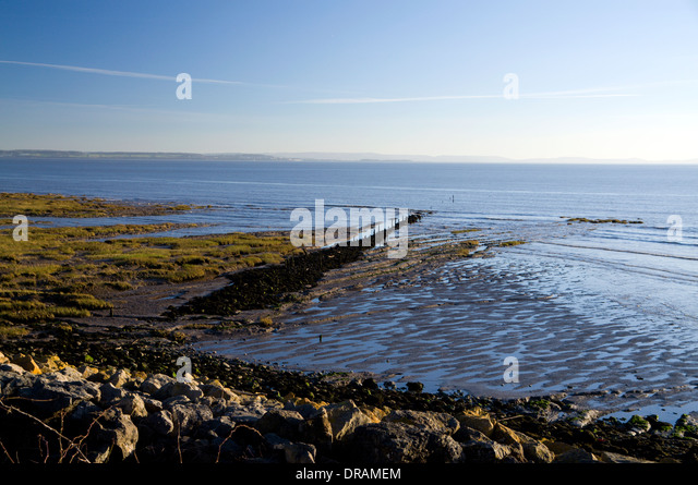 severn estuary wales coast path stock photos severn. Black Bedroom Furniture Sets. Home Design Ideas