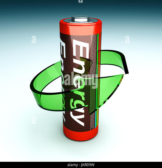 3d Render Battery Recycle Symbol Stock Photos 3d Render Battery