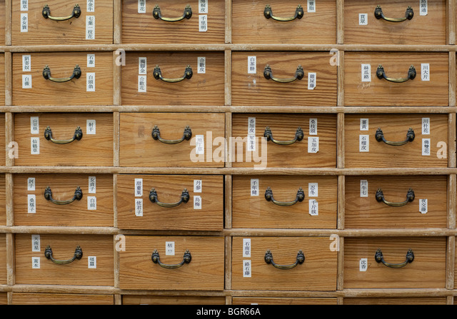 Chinese Medicine Cabinet Stock Photos & Chinese Medicine Cabinet ...