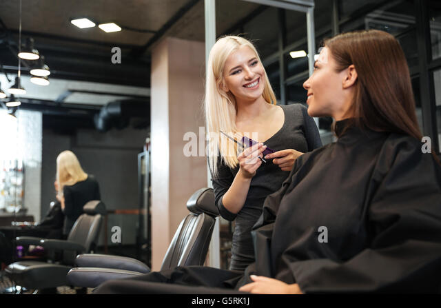 Hair saloon for women stock photos hair saloon for women for A1a facial salon equipment