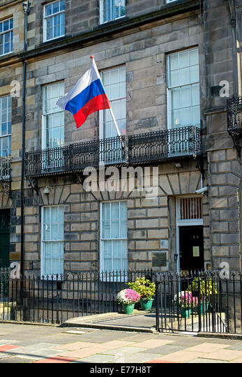 Russian Embassy In Edinburgh 99